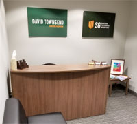 Reception at David A Townsend and SG Accountants office